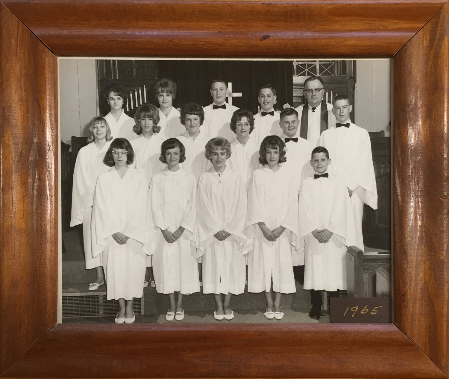 1965 Confirmation Class at St John UCC New Athens