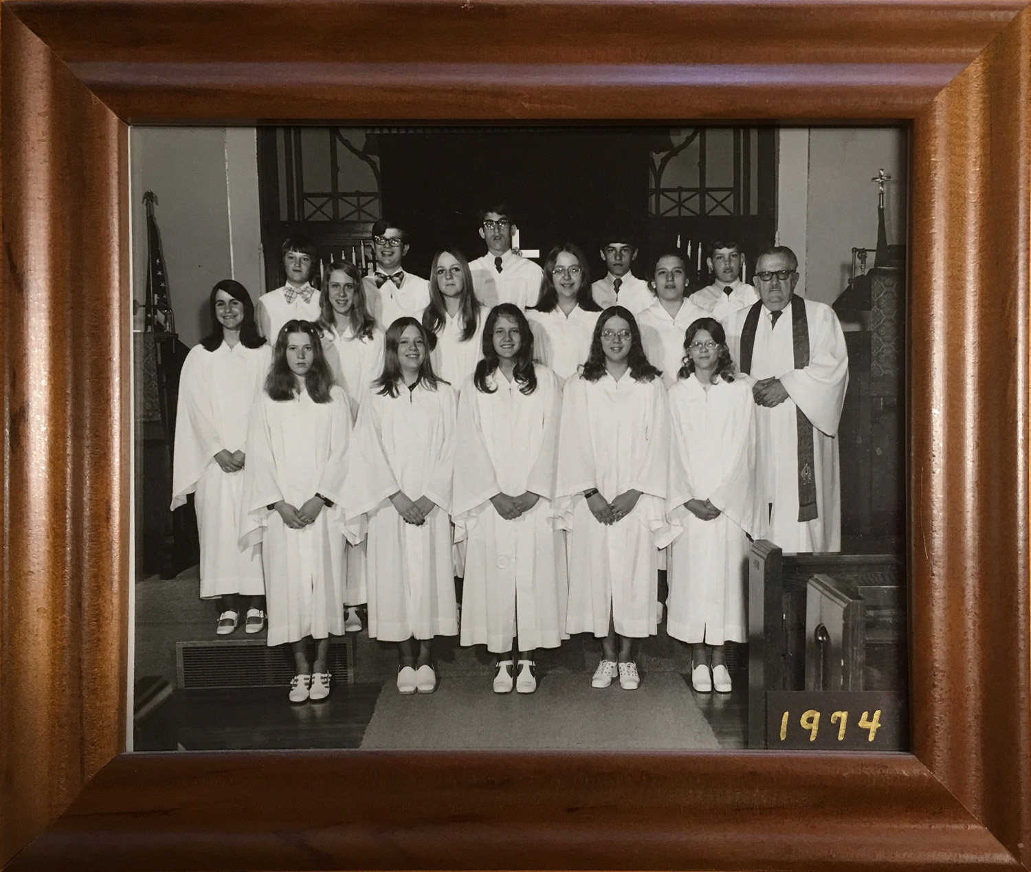 1974 Confirmation Class at St John UCC New Athens