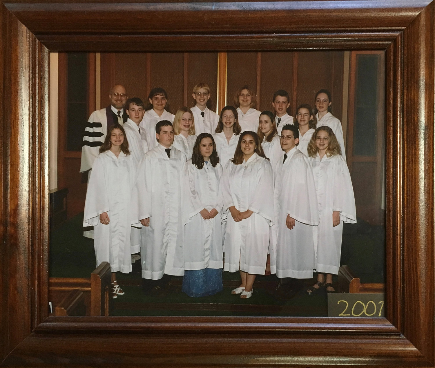 2001 Confirmation Class at St John UCC New Athens