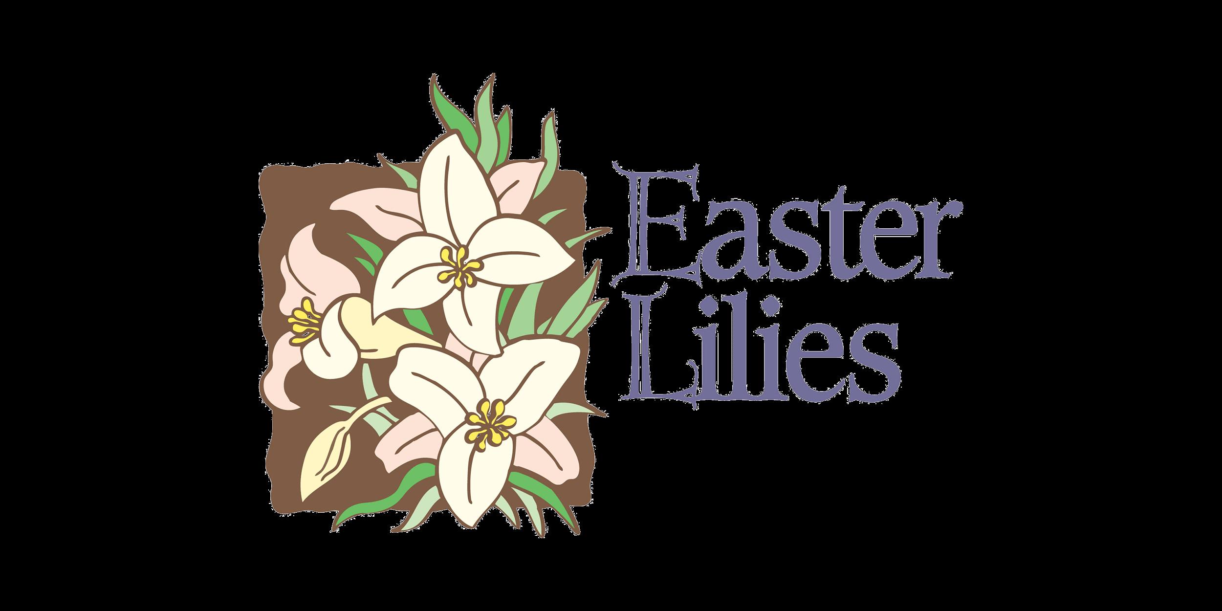 St John UCC NewAthens Easter Lilies